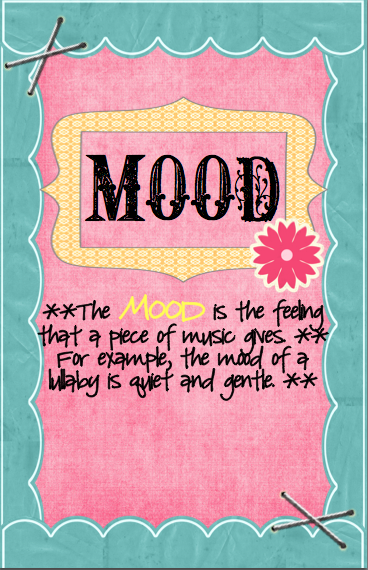 mood anchor chart